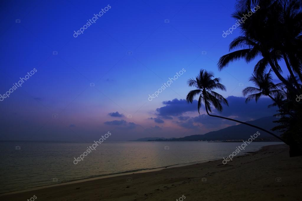 Saunset in Samui, Thailand