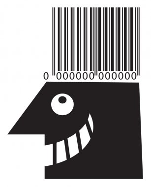 Bar code head.