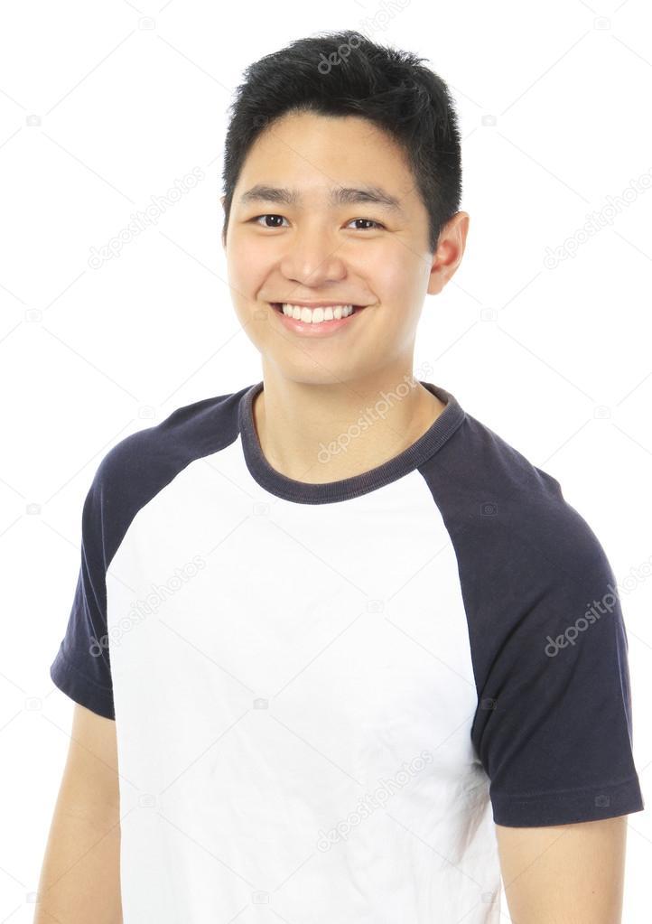 Asian teen boys cute Alone and