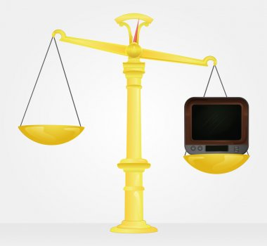 weight measure of television value vector