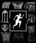staré řecké nastavení obrázku
