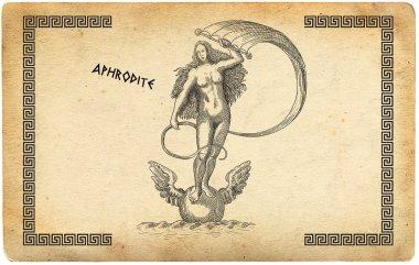 Old greek goddess aphrodite