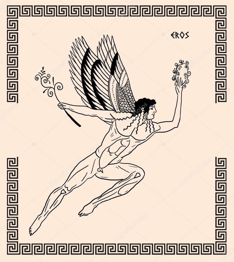 Old Greek God Eros Stock Photo Pavila1 12064977