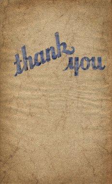 Thank you illustration