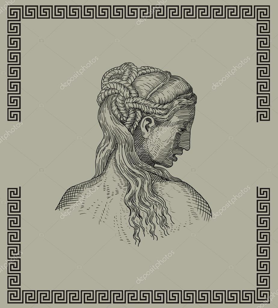 Coiffure Grecque Antique Photographie Pavila1 C 28803217