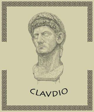 Roman emperor Clavdio