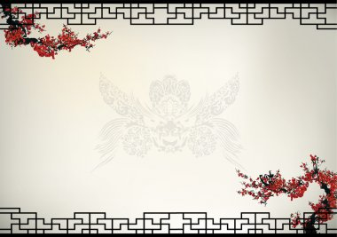 Chinese background stock vector