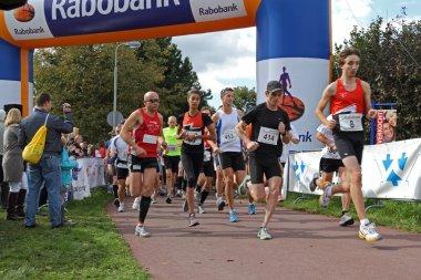 RIDDERKERK, THE NETHERLANDS - SEPTEMBER 18 2010: The start of 2