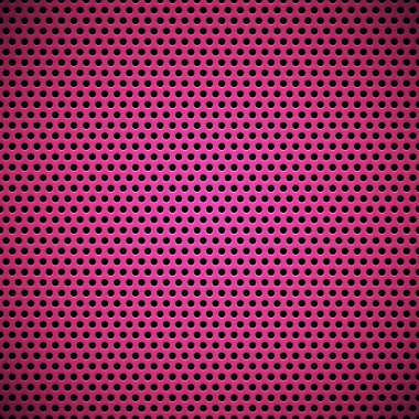 Magenta Seamless Circle Perforated Carbon Grill Texture