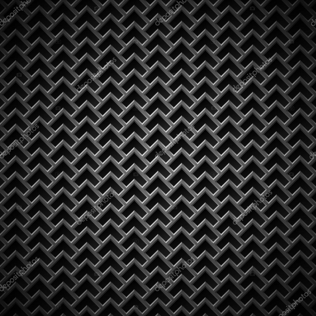 Background With Seamless Black Carbon Texture Stock
