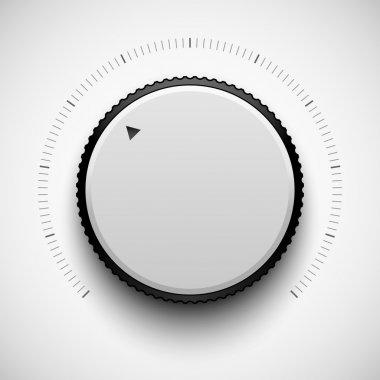 White Technology White Volume Button