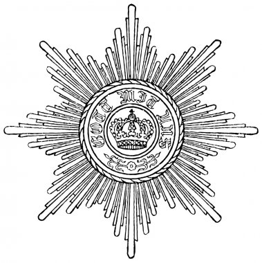 Order of Merit of the Prussian Crown (Prussia, 1901). Publication of the book