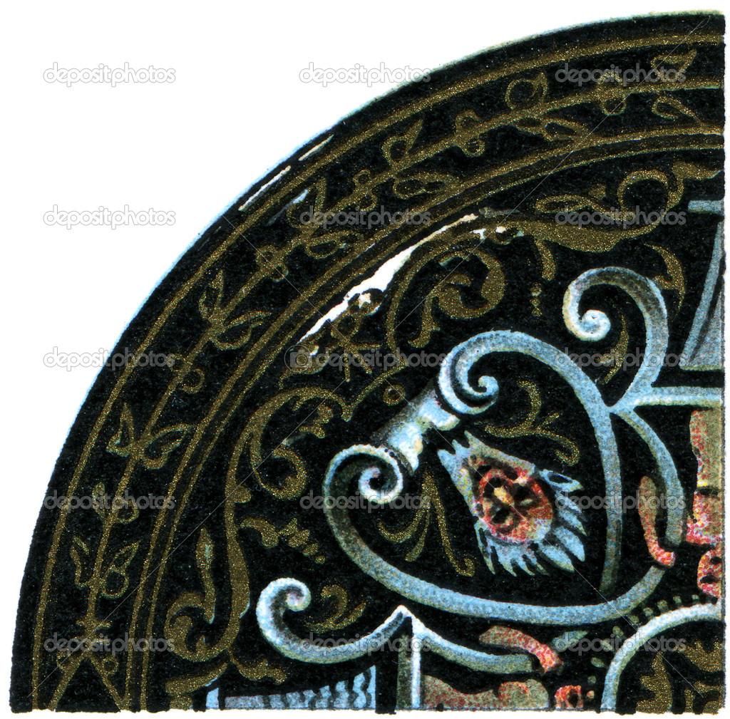 Muster emaillierte Platten (Limoges, 16. Jahrhundert ...