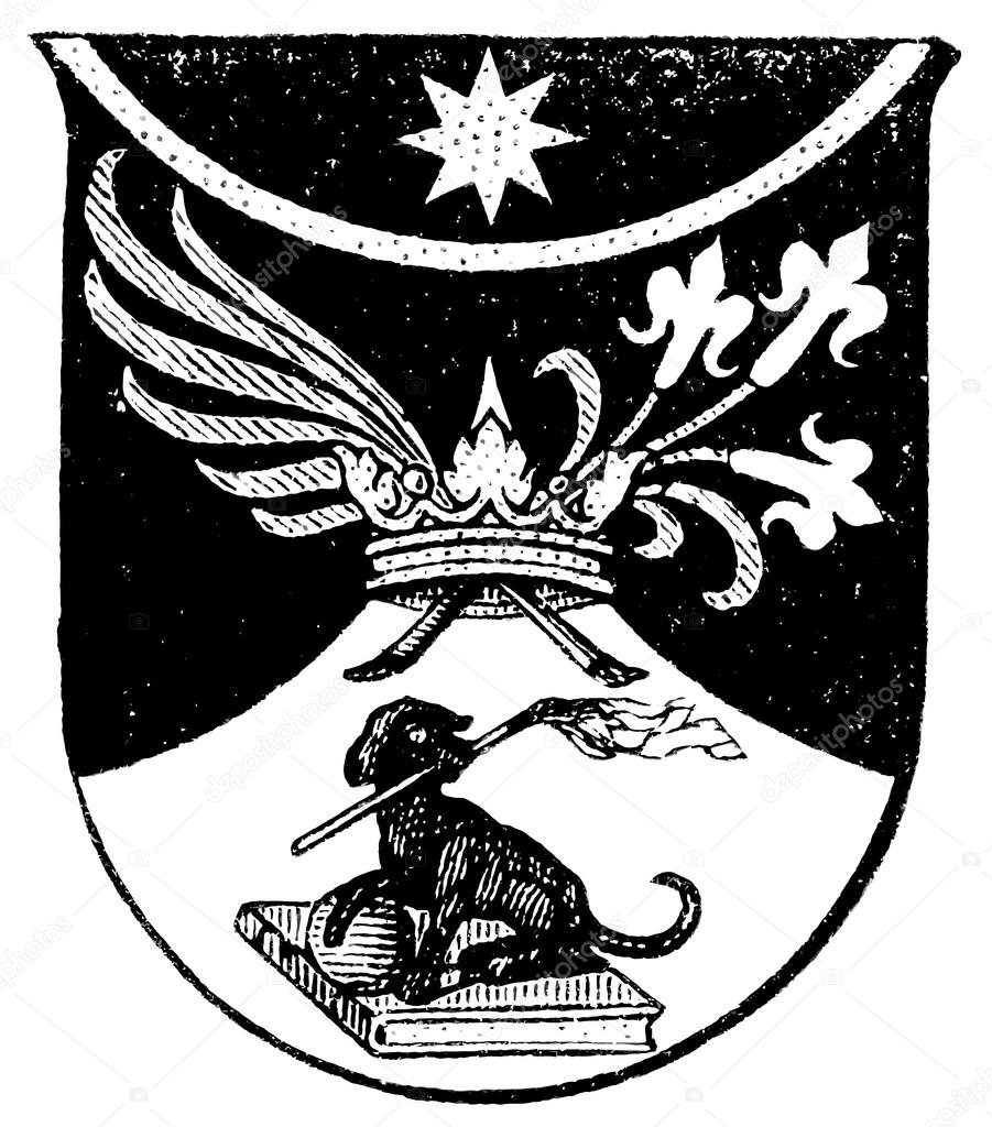 Coat Of Arms Dominican Order The Roman Catholic Church Publication
