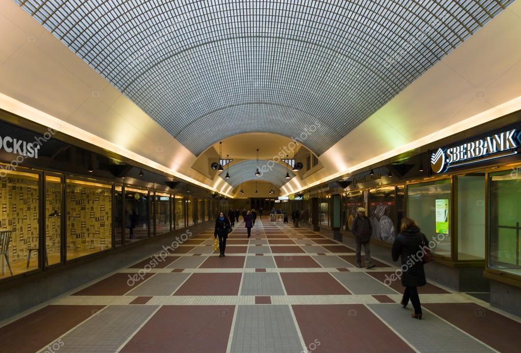 Moderna uma galeria comercial liga a cidade nova e cidade - Galeria comercial ...