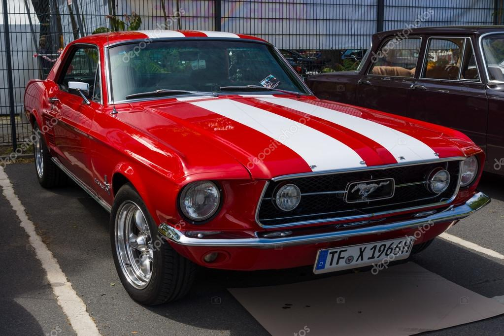 berlin germany may 17 2014 pony car ford mustang gt. Black Bedroom Furniture Sets. Home Design Ideas