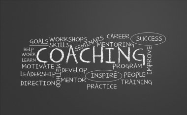 Coaching chalkboard