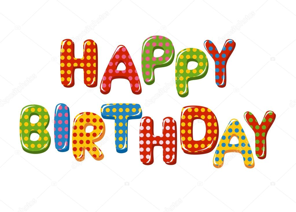 happy birthday letters for him letras de feliz cumplea 241 os vector de stock 169 tatus 41441257 11553
