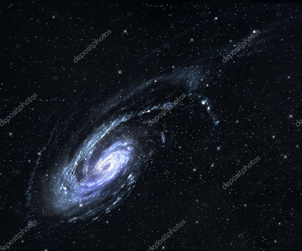 Spiral galaxy.