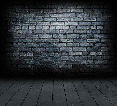 Vintage brick wall.