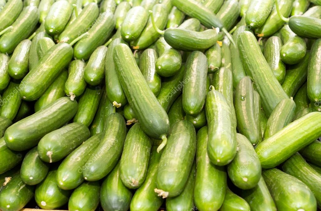A pile of Cucumber
