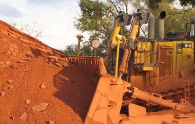 Bauxite mining