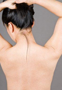 Womans Bare Back