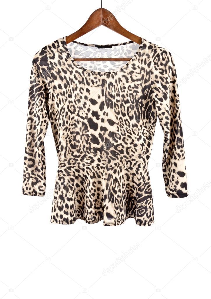 best online no sale tax top brands Chemise à manches longues femmes avec Animal Prints ...
