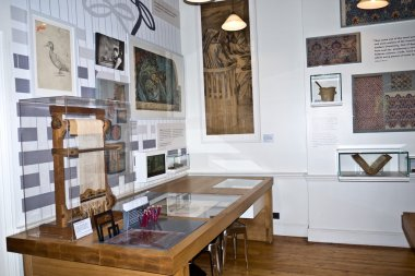 William Morris Gallery reopens in Walthamstow London.