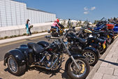 Hundreds of Bikers arrive in Margate for the annual Margate Meltdown event.