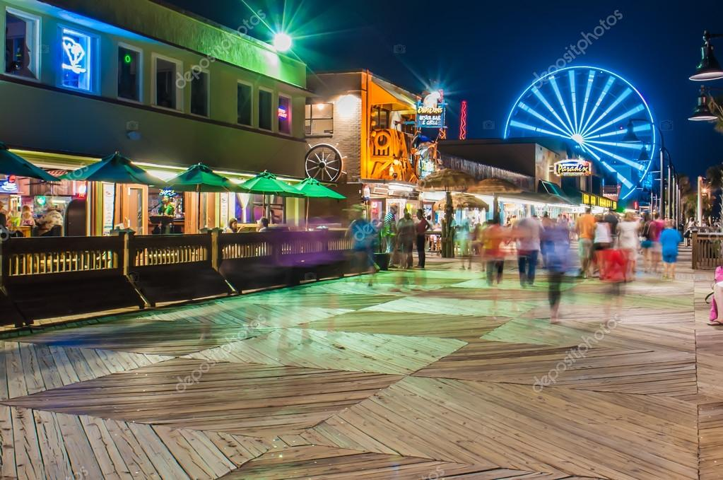 Myrtle Beach South Carolina, USA — Redaktionelles Stockfoto ...