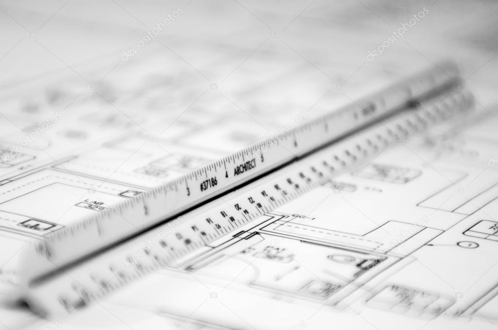 architectural scale — stock photo © digidream #22138517