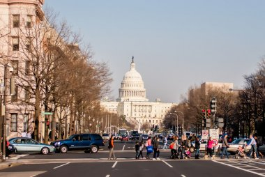 Downtown Washington DC Streets, and Transport System