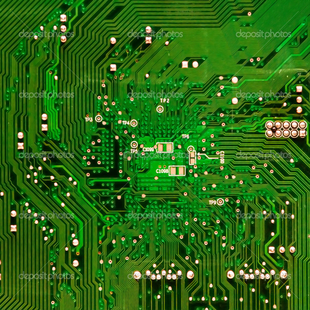 circuit board background of computer motherboard and electronics photo by digidream