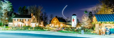 Christmas at billy graham library