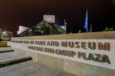 CIRCA 2014 - This is the Rock & Roll Hall of Fame and Museum at