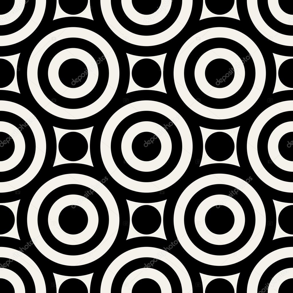 Geometrisch abstrakt moderne nahtlose muster 50er jahre - Moderne muster ...