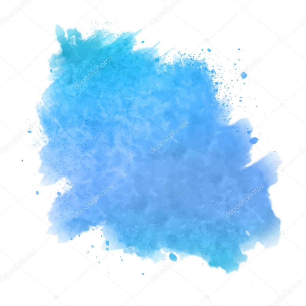 Abstract watercolor spot painted background