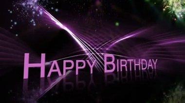 Free Happy Birthday Jpg ~ Happy birthday animation with fireworks u stock video