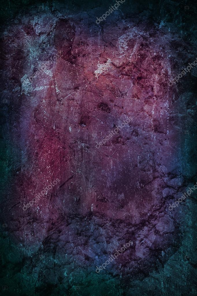 Grungy Dark Background Blue and Purple