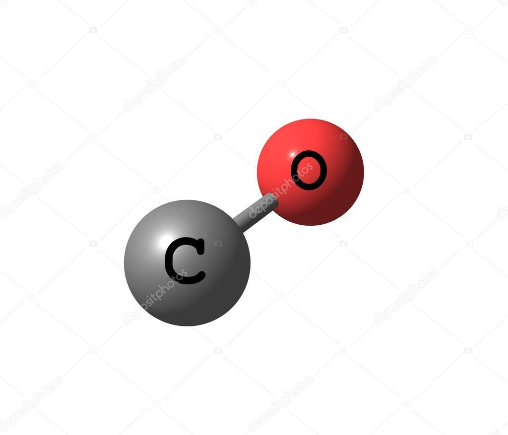 Estructura molecular de mon xido de carbono aislado en - Detectores de monoxido de carbono ...