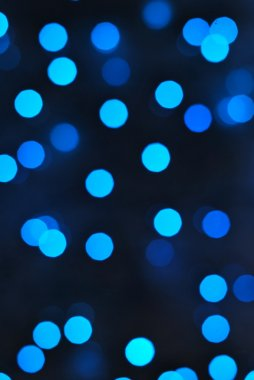 Abstract background of blue circles