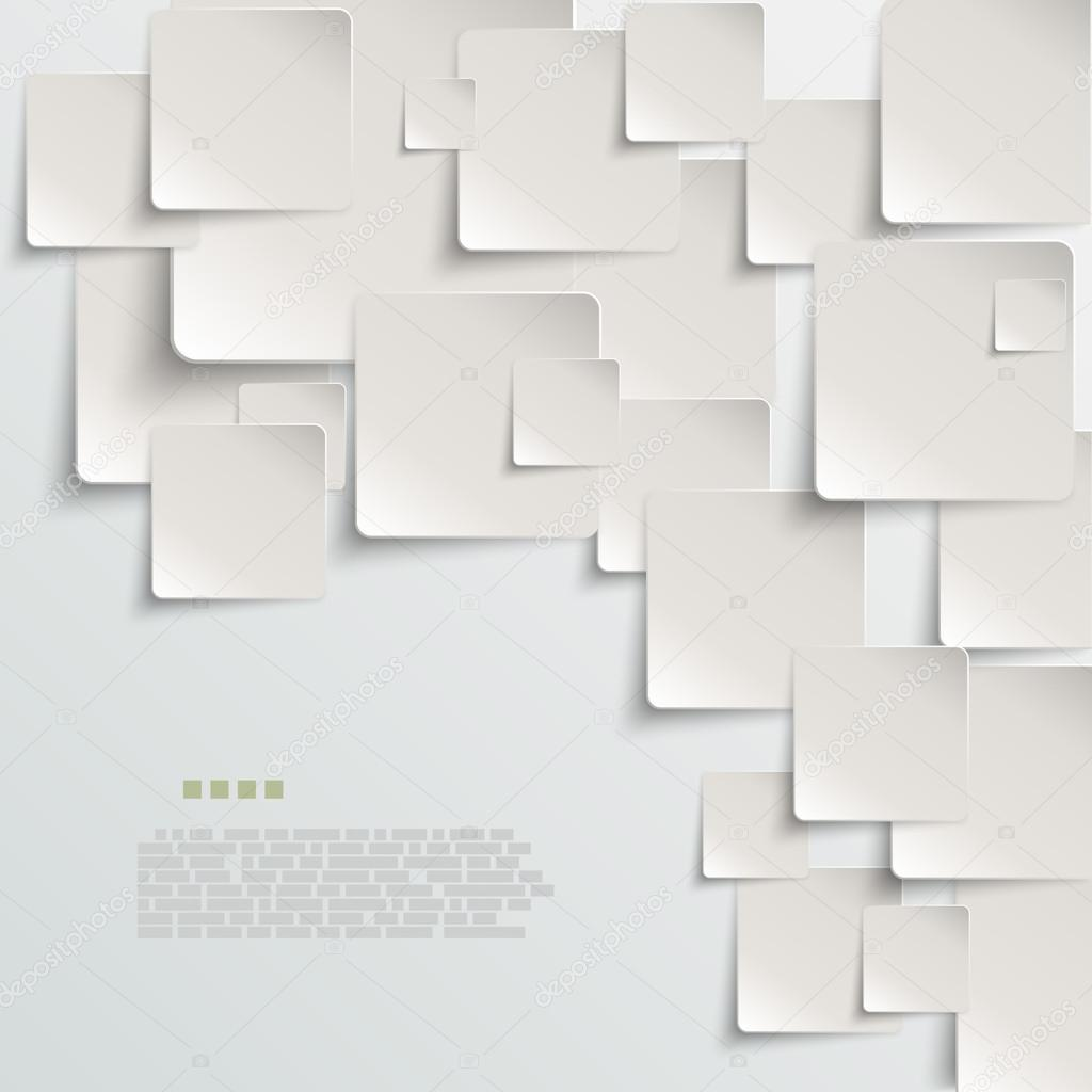 White paper abstract vector background eps10 vector illustration