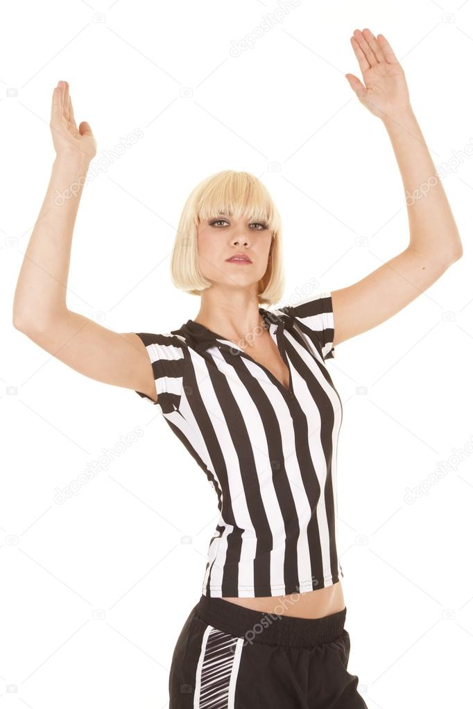 1950s Football Referee Making Touchdown Photograph by Vintage Images
