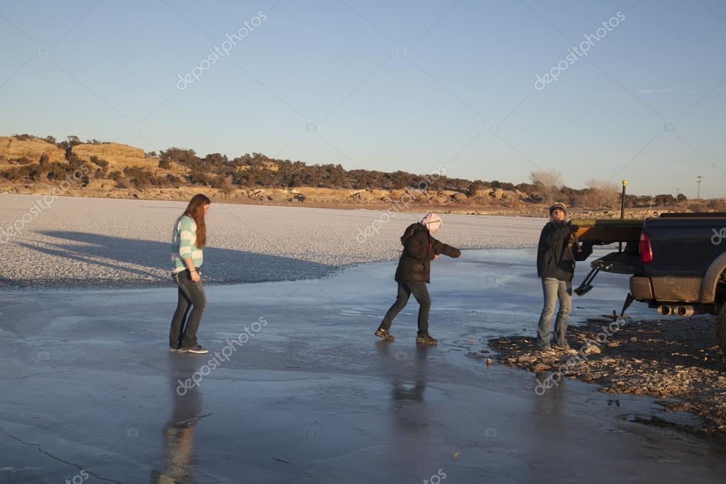 Χώροι που βγαίνουν από τον πάγο