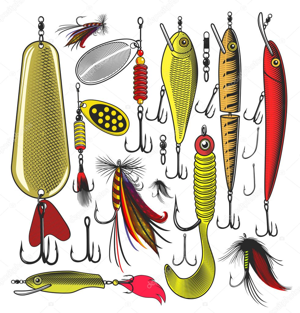 Artificial fishing lures