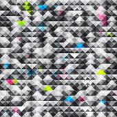 abstraktní trojúhelník grunge bezešvé vzor