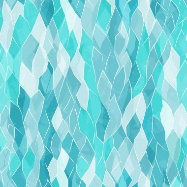 crystal seamless pattern