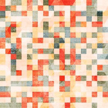 vintage squares seamless
