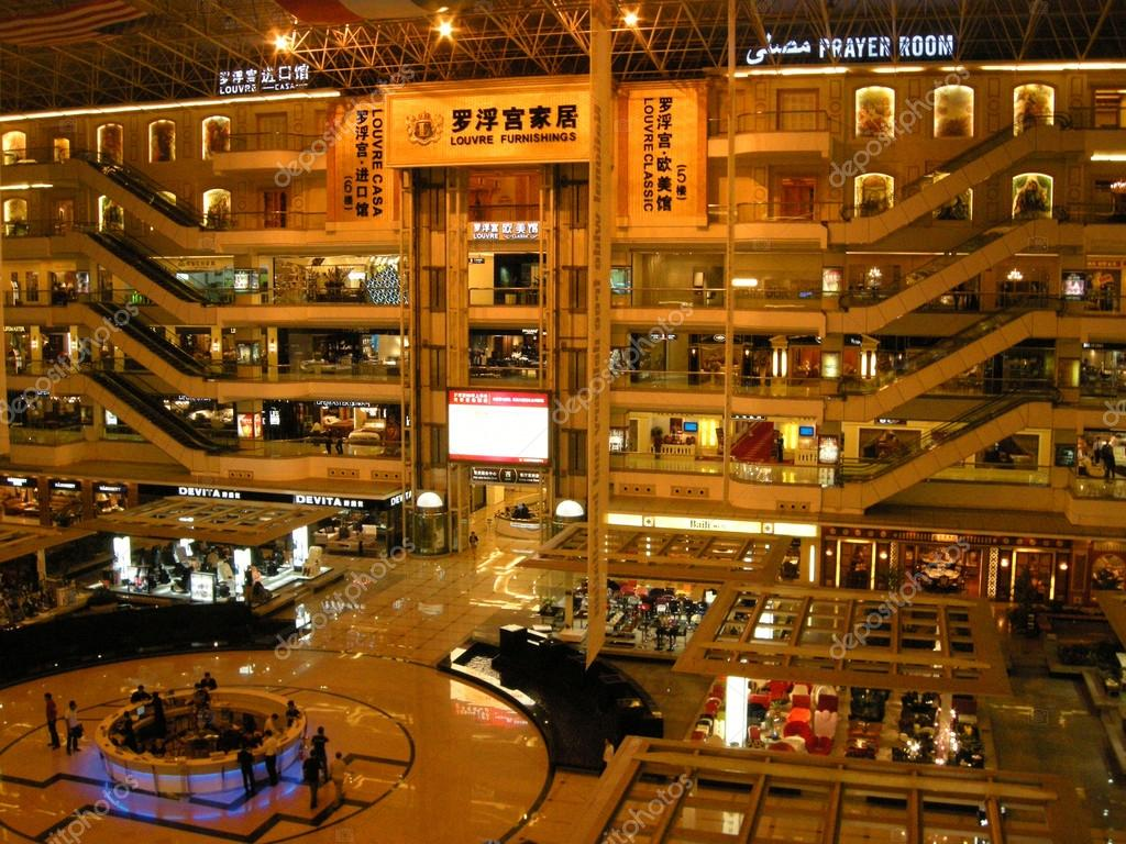Multistorey furniture shopping center guangzhou china for Furniture mall